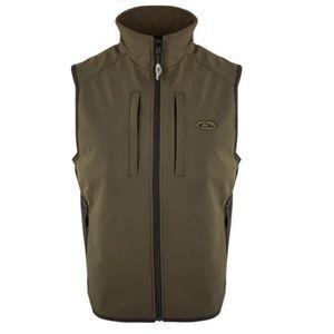 DRAKE EST Windproof Tech Vest - Olive Medium- NWT
